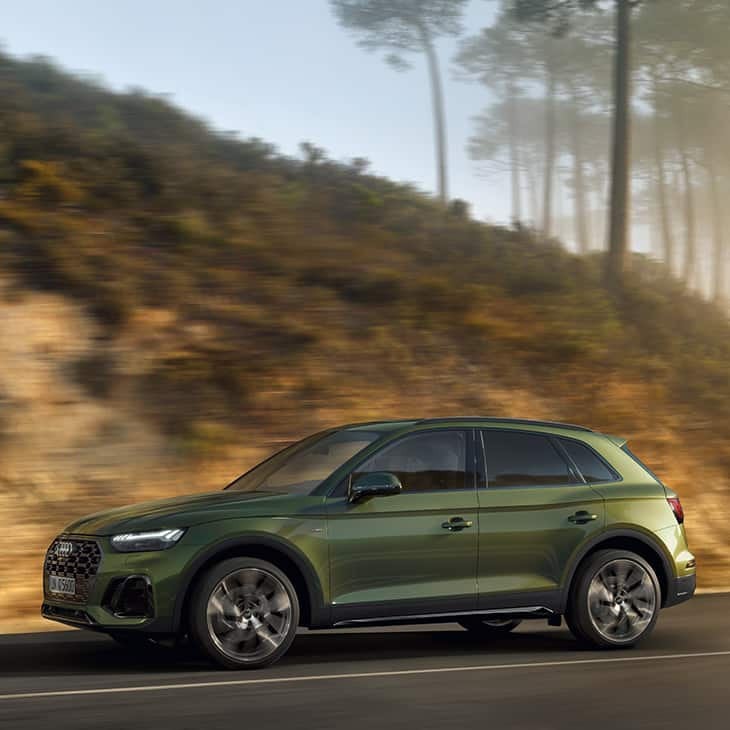 Dynamic side view Audi Q5